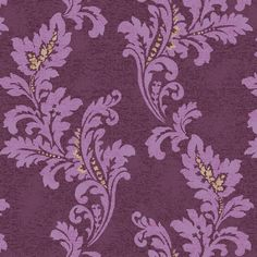 Plum Damask by Surface Syndicate