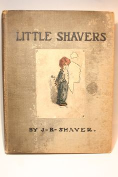 Little Shavers, antique book by VinChic on Etsy
