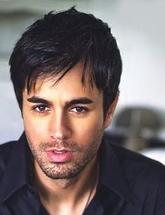 Enrique Iglesias - hairstyles for men