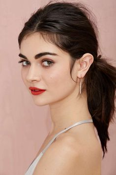 Bar Up Earrings   Shop Accessories at Nasty Gal!