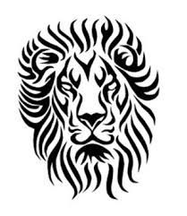 Image result for black and white wild lion wall art