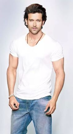 Here is the full list of Hrithik Roshan new upcoming movies. Most Handsome Men, Handsome Actors, Handsome Celebrities, Hrithik Roshan Hairstyle, New Upcoming Movies, Actors Images, Cinema, Shirtless Men, Bollywood Stars