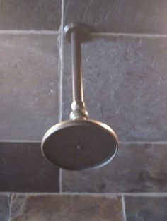 Cifial custom shower in distressed bronze
