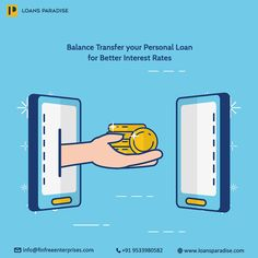 Use The Option Of Transferring Personal Loan From One Bank To Another For Better Interest Rates Personal Loans Balance Transfer Loan