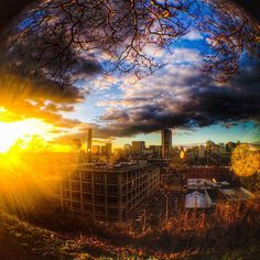 @drugr33n - RVA fisheye. #VisitRichmond #RVA #LoveVa