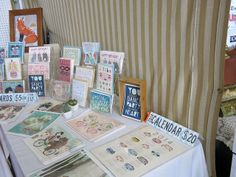 Lots of prints and cards - Renegade Craft Fair 2013 San Francisco Summer | Flickr - Photo Sharing!