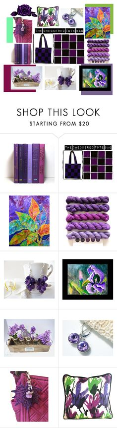 """""""Wednesday Etsy Finds"""" by fivefoot1designs ❤ liked on Polyvore featuring Croton, vintage, etsy, etsygifts and ETSYShopping"""