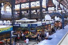 A Short guide to the central market in Budapest