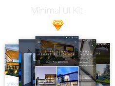 Minimal Android UI Kit