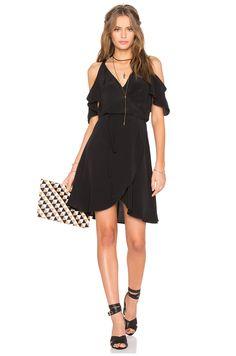 Privacy Please Delta Dress in Black