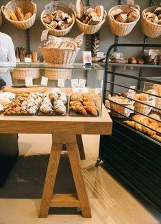 Home Decorators Collection Lighting #HomeDecoratingBloggers Bakery Shop Design, Coffee Shop Design, Cafe Design, Bakery Store, Bakery Cafe, Cafe Restaurant, Bakery Decor, Bakery Interior, Bread Display