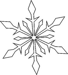 Free Stencils for Spray Paint, Screen Print, or Patch Projects: More Christmas Stencils Christmas Stencils, Christmas Templates, Christmas Snowflakes, Christmas Crafts, Christmas Decorations, Paper Snowflakes, Free Stencils, Stencil Templates, Stencil Patterns