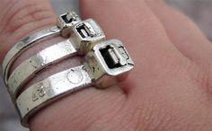 Ziptie Ring