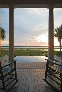 Porch view of beautiful lowcountry marsh. Loved our Lowcountry visit last week to Hilton Head Island. Our boys were fascinated with the different terms in the Carolinas. :)