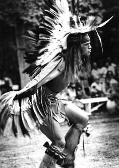 "This is John ""Laughing Wolfe"" Moore, son of John ""Red Bird"" Moore. He is an enrolled Cherokee that happens to visit and dance at the Nanticoke Powwow in Oak Orchard, Delaware every year."
