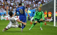 World Cup 2014 final - Messi VS Neuer. The best player VS The Best Goalkeeper