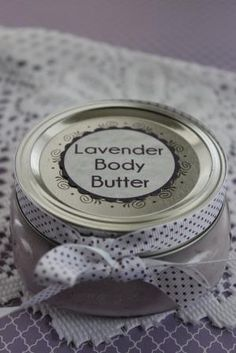 Lavender Body Butter - Easy DIY Recipe