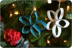 How to Recycle: Recycled Christmas Tree Ornaments