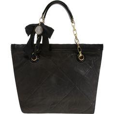 LANVIN Amalia Mini Cabas #handbags