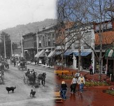 Visit | History of Pearl Street | Downtown Boulder, CO - photo from Silvia Pettem's book Positively Pearl  Street