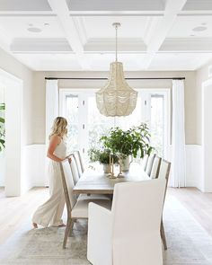Dining Nook, Dining Room Lighting, Dining Room Design, Dining Room Table, Kitchen Tables, Home Design, Interior Design, Design Ideas, Dining Room Inspiration