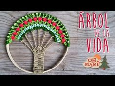 (1) ÁRBOL DE LA VIDA EN CROCHET (CROCHET TREE OF LIFE) - YouTube