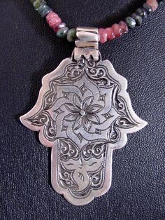 Berber Hamza Necklace.