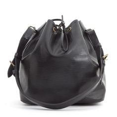 Louis Vuitton Black Epi Leather Petite Noe Bag.. MY FAVE BAG <3 classic, barely leave home without it.