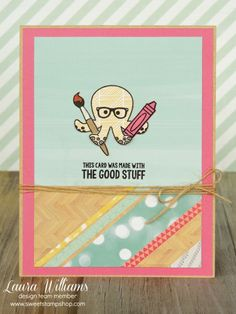 card by laura williams, featuring Sweet Stamp Shop