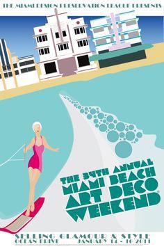 Every year, the miami design preservation league hosts the miami beach art deco weekend. Miami Art Deco, Bauhaus, Blackwork, Estilo Art Deco, Art Deco Buildings, Art Deco Posters, Vintage Florida, Trendy Wallpaper, Art Deco Design