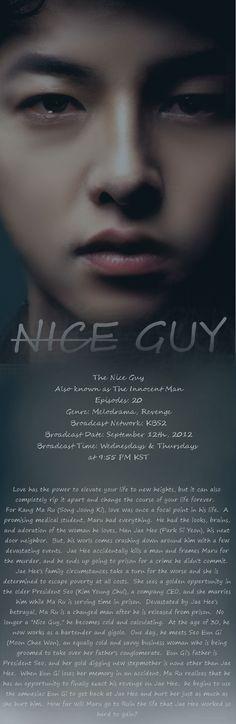 Korean Drama - Nice Guy... watching right now 3.23.13