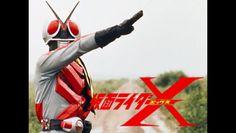 仮面ライダーX イメージ (Kamen Rider X image).