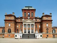 Castle of Racconigi, Racconigi, Italy The castle was the official residence of the Carignano line of the House of Savoy. It was originally built as a fortress but converted to a residence in the late 16th century.
