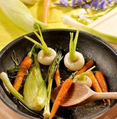 Recette Mini-légumes glacés - Plats, Accompagnements