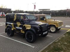 #LandRover Defenders by #Twisted