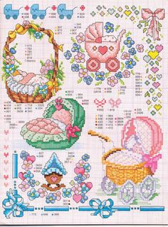 Kreuzstich sticken  - cross stitch - free pattern Gallery.ru / Foto # 126 - Enciclopèdia ITALIANA - KIM-2