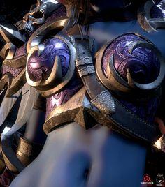 Sylvanas Windrunner, Forsaken Queen, Looking Badass (and Mildly NSFW) Fantasy Art Women, New Fantasy, Fantasy Armor, Dark Fantasy Art, Cosplay Armor, Steampunk Cosplay, Warcraft Art, World Of Warcraft, Lotr Online