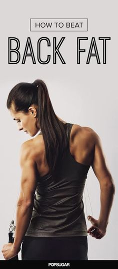 Get rid of your back bulge around the bra area or muffin top with these effective moves.