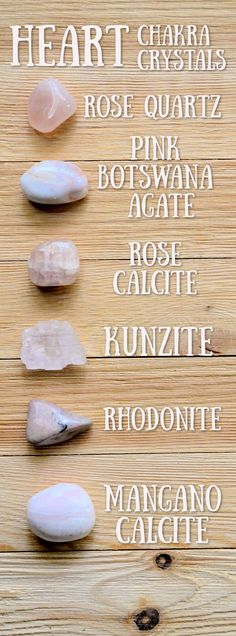 Crystal Magic, Crystal Rose, Crystal Healing Stones, Stones And Crystals, Minerals And Gemstones, Crystals Minerals, Crystal For Anxiety, Chakra Affirmations, Chakra Crystals