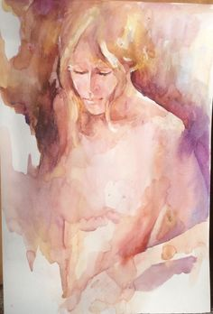 World Water, Watercolor Paintings, Meant To Be, Doodles, Around The Worlds, Beauty, Mixed Media, Portraits, Artists