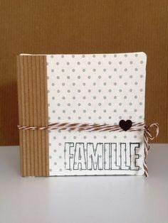Claudia's Scrap: Mini Album Famille