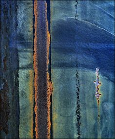 Don Taylor/blue abstract Abstract Landscape, Abstract Art, Rust Paint, Weathered Paint, Peeling Paint, Nature Artwork, Jolie Photo, Rust Color, Color Blue