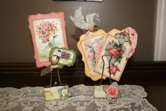 Shabby Beautiful Scrapbooking Altered binder clips