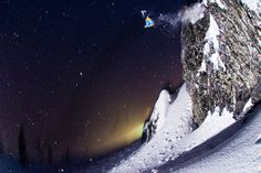 Darcy Bacha. Snowboarding
