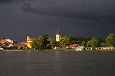 Netolice by Ivana Piskáčková Clouds, Sky, River, Night, Awesome, Heaven, Heavens, Rivers, Cloud