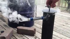 diy cold smoke generator | Cold smoke generator (Cold smoker) - YouTube