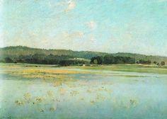 ANTONÍN CHITTUSSI (1847-1891) Lásenický rybník (1886)