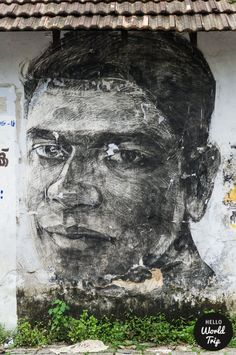 Kochi in Kerala - Streetart / helloworldtrip.com