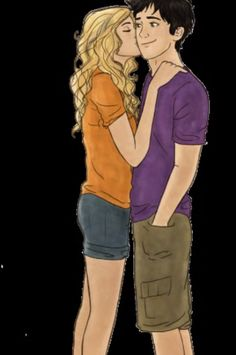 Percabeth kiss <<<< They are so perfect!