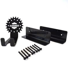 The Dan pedal hook is a horizontal bike storage system. Bike wall mount for all bikes. Bike Wall Storage, Bike Storage Systems, Shoe Storage, Garage Storage, Hallway Shelf, Bike Wall Mount, Range Velo, Bicycle Rack, Bike Hooks